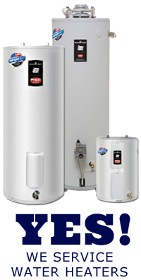 we service water heaters in Boulder, Colorado